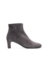 Del Carlo Round Toe Ankle Boots