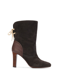 See by Chloe See By Chlo Lace Back Ankle Boots