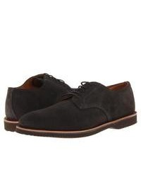 Charcoal Suede Derby Shoes