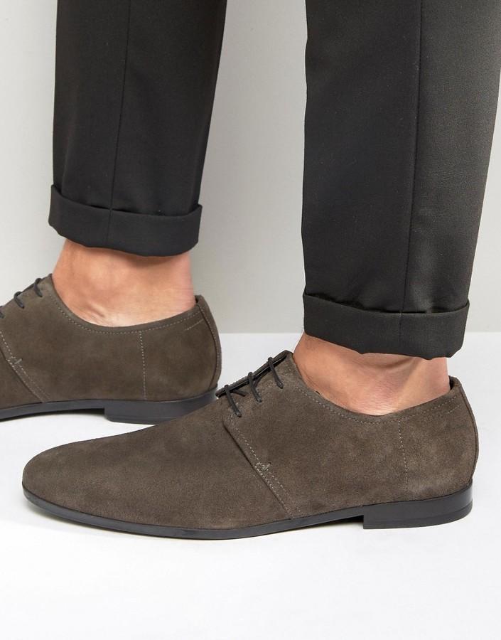 ... Hugo Boss BOSS By Hugo Boss Paris Suede Derby Shoes