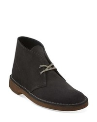 Charcoal Suede Desert Boots