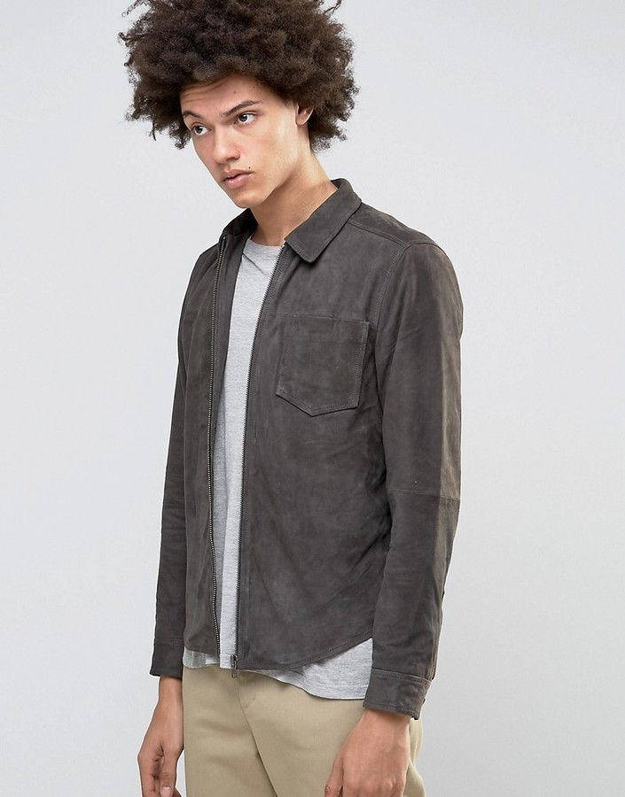 Selected Homme Suede Shirt Jacket | Where to buy & how to wear