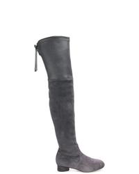 Stuart Weitzman Slip On High Boots