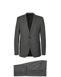 Hugo Boss Grey Hugegenius Slim Fit Puppytooth Wool Suit