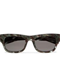 FLATLIST Flat Square Frame Acetate Sunglasses