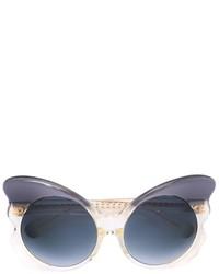 Matthew Williamson Linda Farrow X Cat Eye Frame Sunglasses