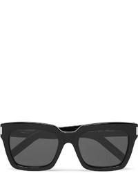 Saint Laurent Square Frame Acetate Sunglasses