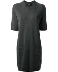 Dolce & Gabbana Short Sleeve Sweater Dress