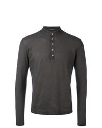 Massimo Alba Buttoned Sweatshirt