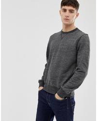 J.Crew Mercantile Crewneck Sweatshirt In Black Marl