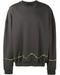 Haider Ackermann Grey Perth Oversized Sweatshirt