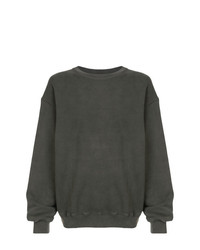 Yeezy Oversized Crewneck Sweatshirt