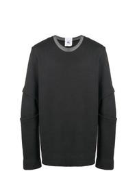 Lost & Found Rooms Panelled Sleeve Sweatshirt