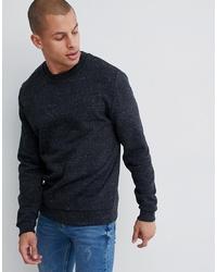 ASOS DESIGN Sweatshirt In Charcoal Marl