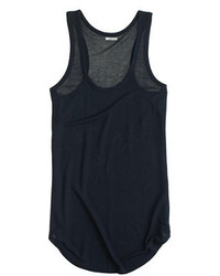 J.Crew Ribbed Racerback Tank Top