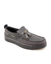 Charcoal tassel loafers original 2574015