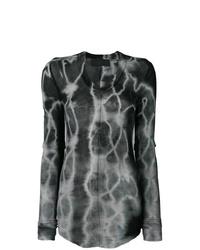 Marc Le Bihan Tie Dye Longsleeved T Shirt