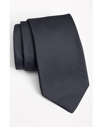 Michael Kors Michl Kors Woven Silk Tie Charcoal Regular