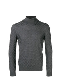 Tagliatore Checkerboard Knit Sweater