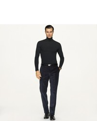 Ralph Lauren Black Label Merino Wool Ribbed Turtleneck