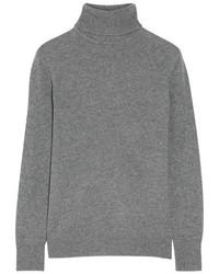 Oscar cashmere turtleneck sweater anthracite medium 845918