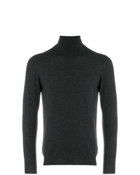 Zanone Roll Neck Fitted Sweater