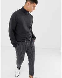 Selected Homme Roll Neck Knit