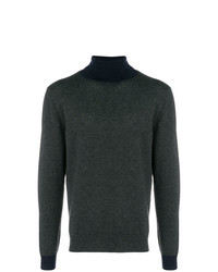 Altea Two Tone Turtleneck Sweater