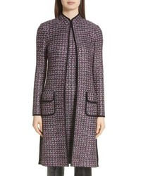 Charcoal Tweed Coat