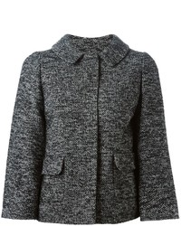 Dolce & Gabbana Slim Fit Tweed Jacket