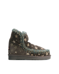 Mou Star Print Boots