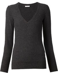 Chloé Deep V Neck Sweater