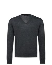 Prada V Neck Sweater