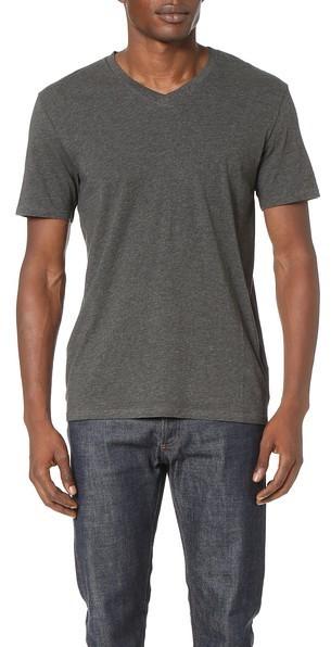Short Sleeve To Vince V Buyamp; Wear Neck Pima How TeeWhere W9DH2YEI