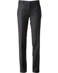 Tagliatore Straight Pinstriped Trousers
