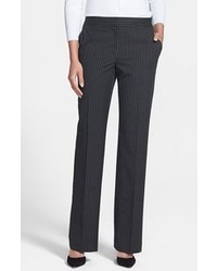 Halogen Taylor Pinstripe Curvy Fit Suit Pants