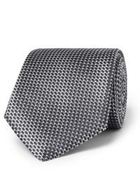 75cm striped silk jacquard tie medium 1124880