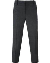 Pinstripe cropped trousers medium 1253099