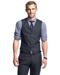 Ludlow suit vest in italian wool medium 7031
