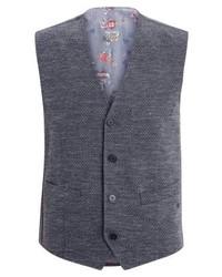 Mosley suit waistcoat grau mittel medium 3831753