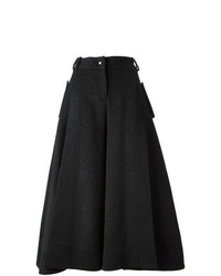 Jamie Wei Huang Front Open Slit Wide Leg Tapered Trousers