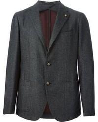 Charcoal Wool Blazer