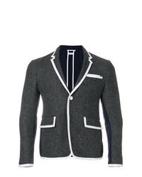 Thom Browne Bicolor High Armhole Wool Sport Coat