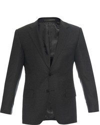 Gieves Hawkes Birdseye Notch Lapel Wool Jacket