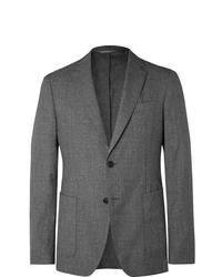 Hugo Boss Grey Hooper Super 120s Wool Suit Jacket