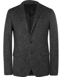 Solid homme grey slim fit wool blend blazer medium 657627