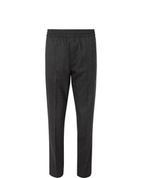 Acne Studios Dark Grey Ryder Wool Trousers