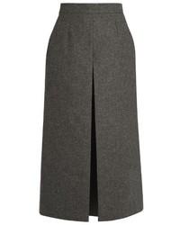 Wide leg wool culottes medium 805740