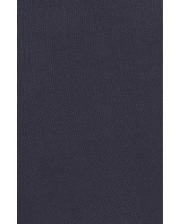 Pal Zileri Flat Front Solid Wool Trousers