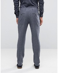 Selected Homme Slim Smart Pant In Wool Mix